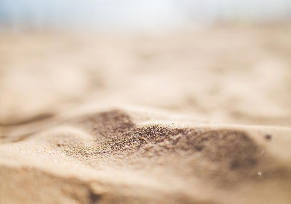 Le sable disparaît!