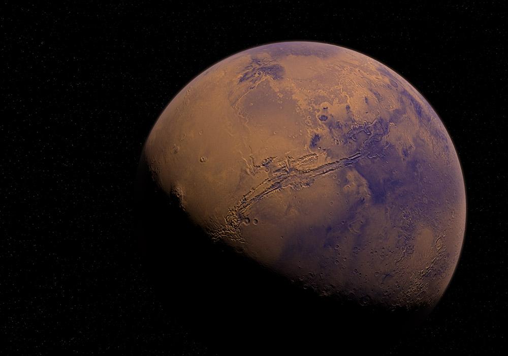 Un impact géant serait à l'origine des lunes martiennes