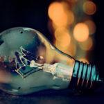 Photographie d'une ampoule