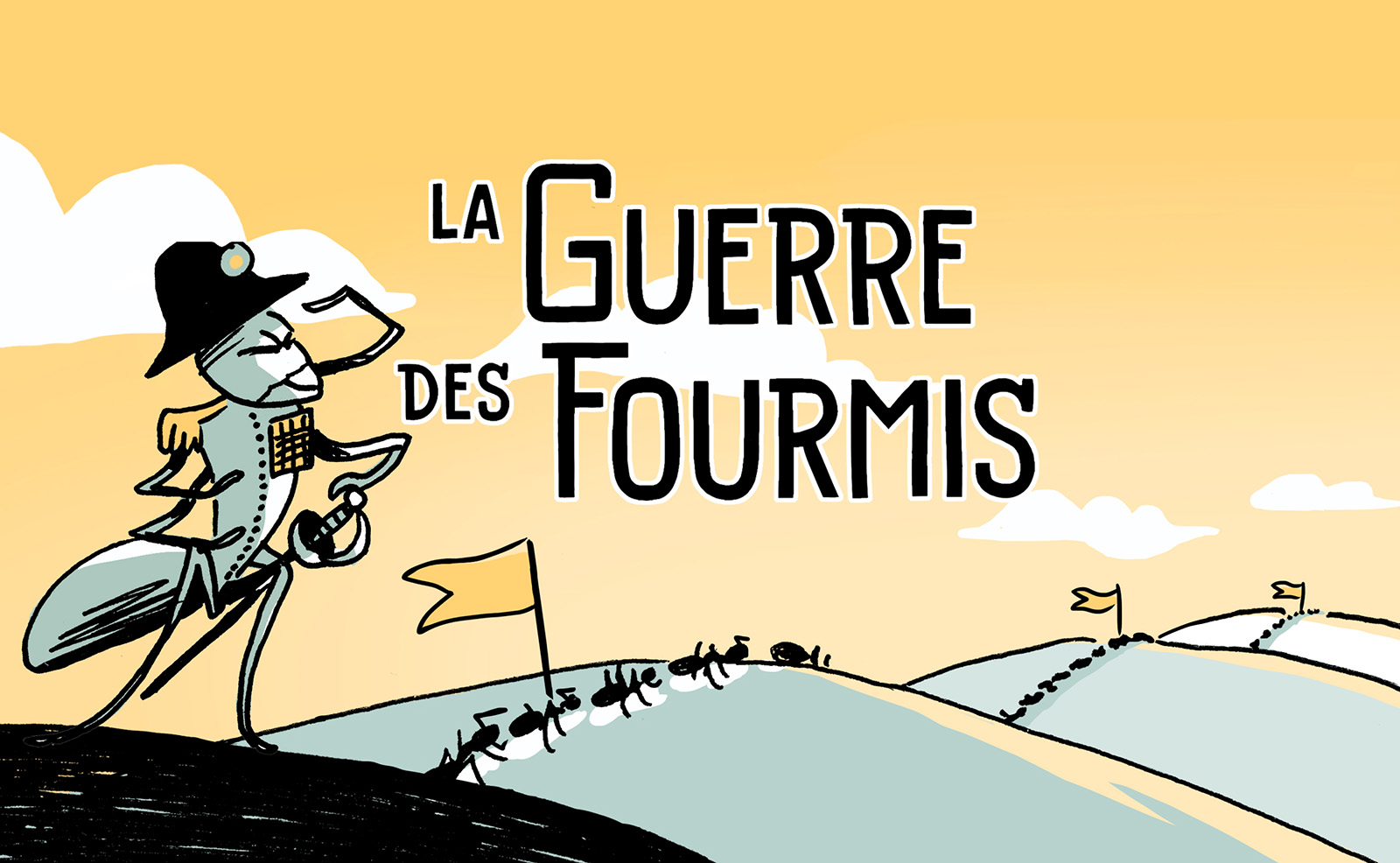 [Interview] La guerre des fourmis