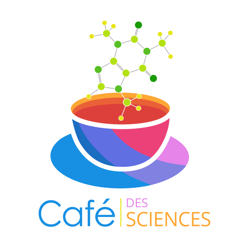 le logo de l'association du café des sciences