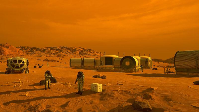 Voyage vers Mars : le danger des radiations