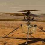 Hélicoptère Ingenuity sur Mars
