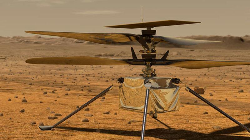 Ingenuity : un vol historique sur Mars
